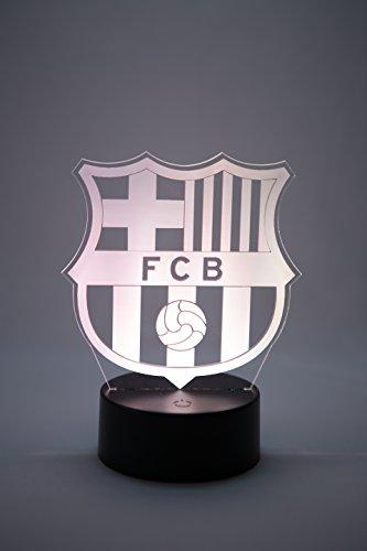 Oficial Escudo del FC Barcelona Lámpara original accesorios de 2017- 2018 y mejor regalo de Barça para bebe infantil niño kids hombre mujer adulto Mejor decoracion para hogar