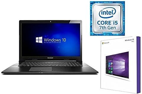 LENOVO V110-17IKB - INTEL CORE i5 - 128GB SSD - 8GB DDR4-RAM - CD/DVD BRENNER - WINDOWS 10 PRO - 44cm (17.3