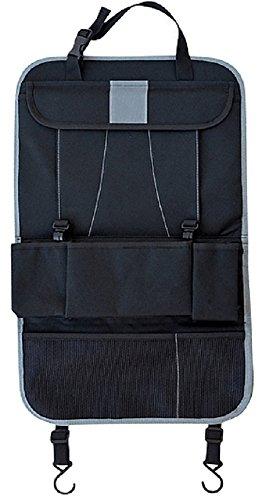 MOONPOP Oxford Auto Organizer - 9 Multifunktions Pocket Rücksitzschutz Reise Auto Tasche - Tablet Fach und Taschen Haken - für jedes Fahrzeug