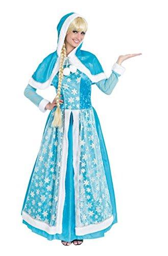 Chaks c4120l, Kostüm Königin der Eis Erwachsene, Größe L