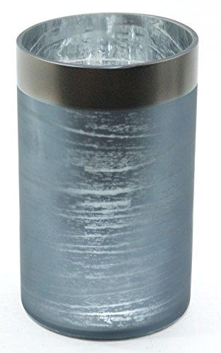 kee Candle Ombre Forest Silber Birke Baum groß Jar Sleeve Kerzenhalter Dekoration Ornament Milchglas ()