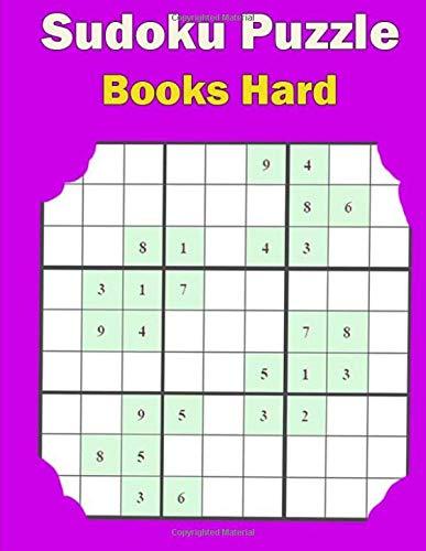 Sudoku Puzzle Books Hard: Easy, Medium, Hard Sudoku Puzzle Book bargain bonanza for Sudoku lovers