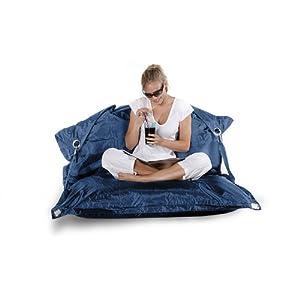 Unbekannt Smoothy Sitzsack Supreme Blau