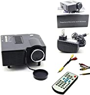 Portable Hdmi Mini Led Projector Home Cinema Theater With Av Vga Usb Sd Compatibility 1080p