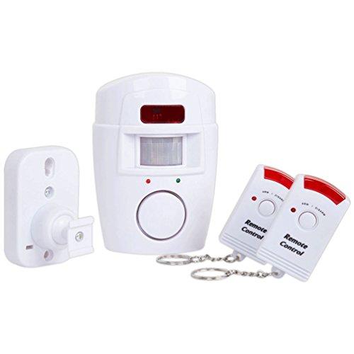 4VWIN-Sensor-de-movimiento-inalmbrico-con-alarma-2-mandos-a-distancia-Prevencin-de-la-delincuencia-para-puerta-delanteratrasera-garaje-cobertizo-construcciones-exteriores-caravanas-y-autocaravanas