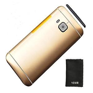 VEKIR-Batterie-Tr-mit-Kamera-Glasabdeckung-Kompatibel-mit-HTC-One-M9-Gold-Retail-Verpackung