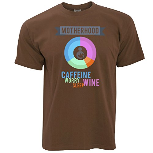 Tim And Ted Mutterschaft Zutaten Gedruckt Slogan Zitat Design Premium Herren T-Shirt (Neuheit T-shirts Mutterschaft)