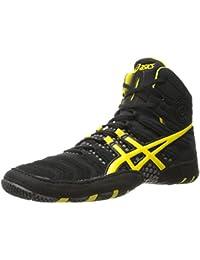 Zapato de lucha JB Elite V2.0 para hombre, Negro / Oro ol¨ªmpico / Rojo, 10 M US
