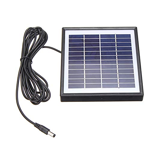 ChaRLes Tragbare 5W 12V Polysilizium Solar Panel Batterie Ladegerät Für Auto Rv Boot W / 3M Kabel Rv-batterie-kabel