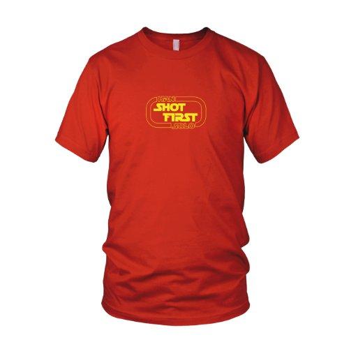 Han Shot First - Herren T-Shirt Rot