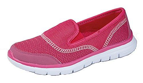 Ladies Superlight Leisure/Walking Shoe Rosa (Rosa)