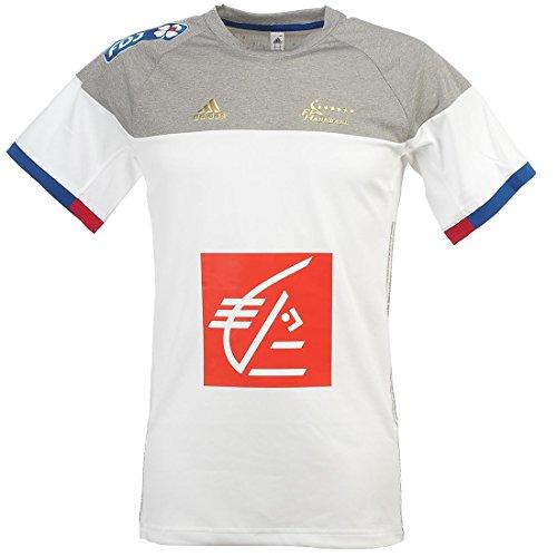 adidas Herren FFHB Frankreich T-Shirt, White/Mgreyh, XL, AC4922