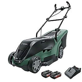Bosch 06008B9501 Tondeuse à Gazon sans Fil – UniversalRotak 36-560 (∅38, 2 batteries 36V, superficies de pelouse jusqu'à…