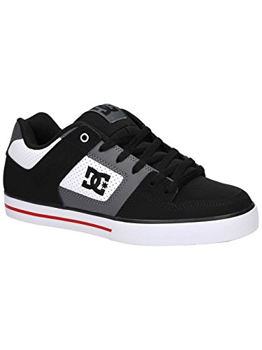 DC Shoes Pure White/Black/Red