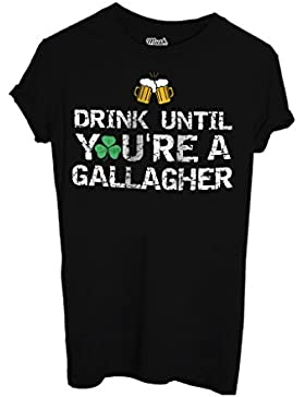 T-Shirt BEVI FIN CHE NON SEI UN GALLAGHER-SHAMELESS - FILM by Mush Dress Your Style