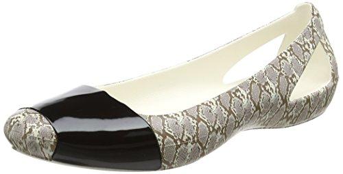 Crocs Sienashnanmlflt, Ballerines Femme Multicolore (Snake)