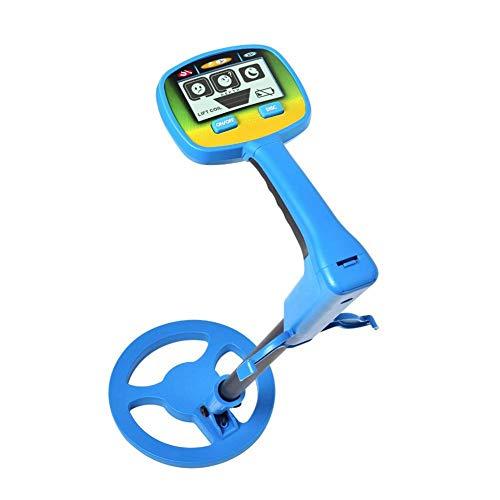 Detector de Metales para niños, Detector de Metales subterráneo portátil con Pantalla LCD, Detector...