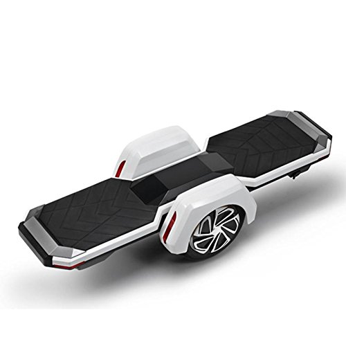 Kitzen Single Wheel Electric Scooter Intelligent Remote Control Adult Scooter Suspension Skateboard Two-Wheeled Balance Car Maximum Speed: 15km / H Maximum Range: 18km , whiteConvenient Comfortable