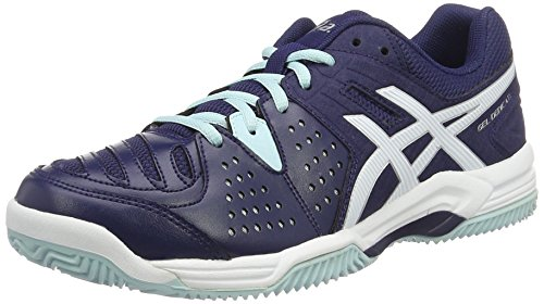 "Damen Tennisschuhe Outdoor ""Gel Dedicate 4 Clay"" marine/weiß"