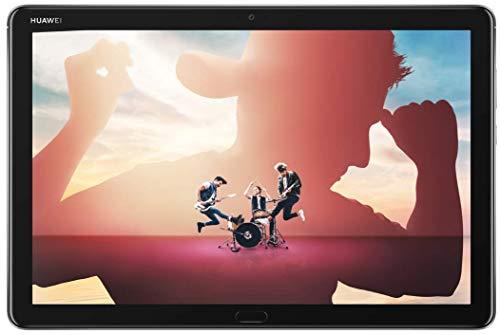 HUAWEI MediaPad M5 Lite 10 Wi-Fi Tablette Tactile 10.1' Gris (32Go, 3Go de RAM, Android 8.0, Bluetooth, Quatre haut-parleurs)