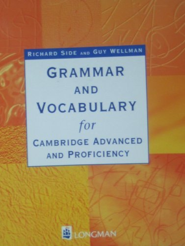 Grammar and Vocabulary for Cae and Cpe: Without Key (GRVO) by Richard Side (1999-09-07)