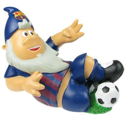 F.C. Barcelona Garden SLIDING TACKLE Gnome