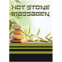 "DIN-A1 Massage ""Hot Stone"" Plakat Poster Kundenstopper Kosmetik Beauty"