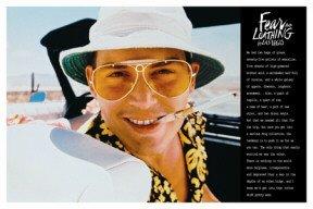 Innerwallz 24x 36Poster Print Fear & Loathing in Las Vegas-Raoul Duke
