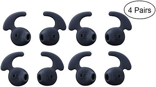 Ohr Gele Kopfhörer Tipps lunies Antirutsch Silikon Sport Headset Weich Cover für Samsung S7s7edge S6Edge 9200g9250bequemer 4Paar (S5 Für Galaxy Skin Active)