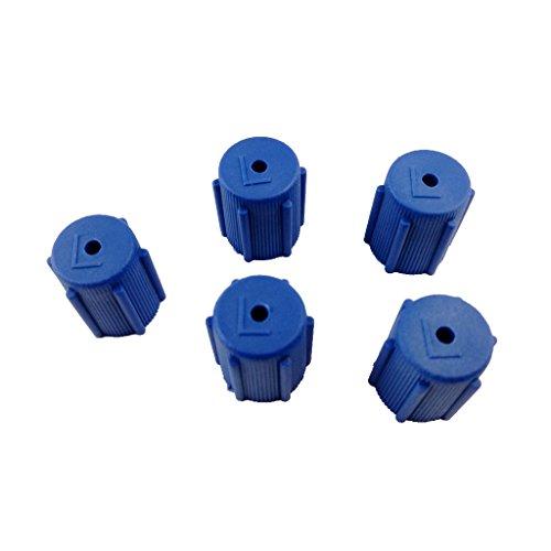 5pz AC Servizio Di Porta Ricarica R134a 13mm tappo Condizionatore D'aria A Bassa Lato 5pcs (R134a Porta Di Servizio)