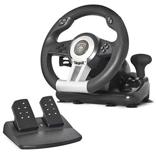 Spirit Of Gamer SOG-RWP Volant de jeu pour Ordinateur Portable/PS2/PS3 Noir