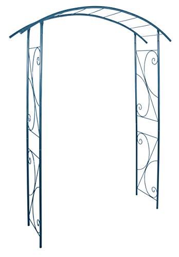 Louis Moulin 3418 Arche Jardin Modèle Pont Métal Bleu 148 x 207 cm