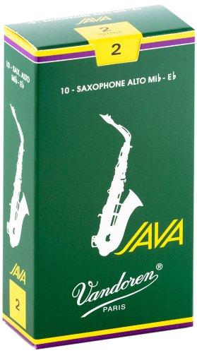 Vandoren SR262 Java Alt Saxophon Blätter - 10 Einheiten