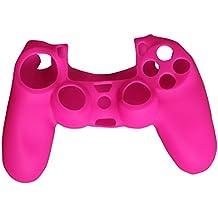 eJiasu Protector Joystick ps4, Funda Mando ps4 Silicona Skin Suave Piel para Playstation 4 PS4 Controlador Manejar Agarre (Rosa)