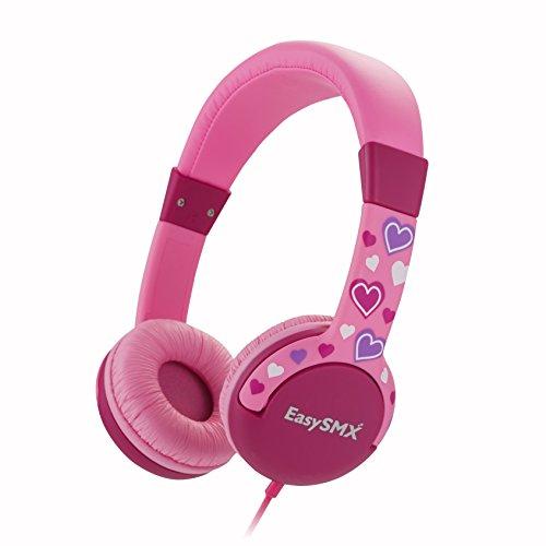 easysmx-cuffie-comode-per-bambini-auricolari-per-bimbi-over-ear-limitato-volume-per-la-protezione-de