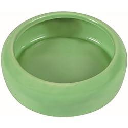 Trixie Bol de cerámica con borde redondeado para conejo, 400ml