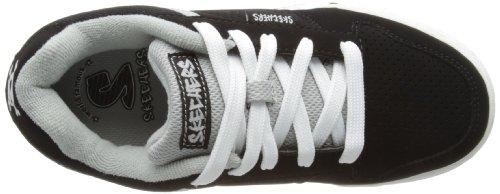 Skechers - Endorseskate Game, Scarpe da ginnastica Bambino Nero (Schwarz (BKGY))