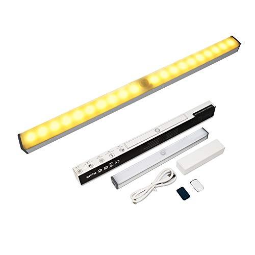 Sensor de movimiento de luz - Vindany 20 LED Sensor de movimiento magnético armario luces Stick-on...