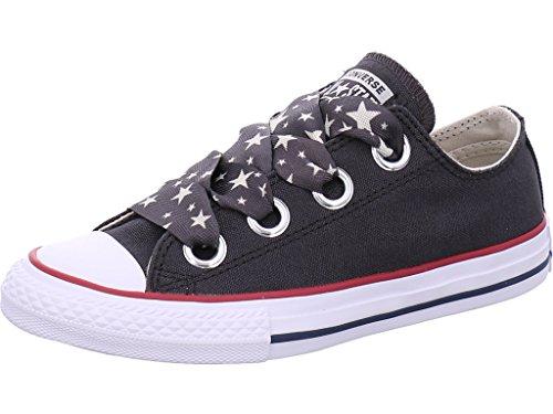 Converse Filles Chuck Taylor All Star Big Eyelet-Slip Schwarz Sneaker Low 30 Chuck Taylor Slip