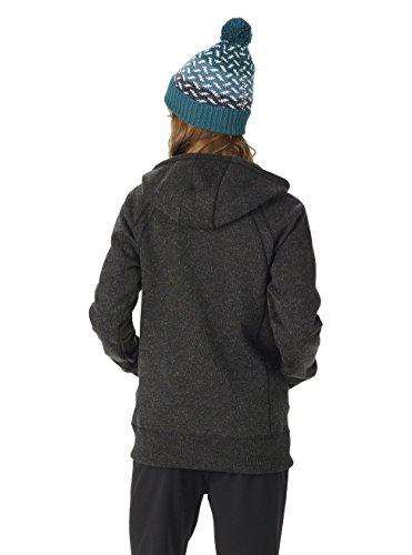 Burton Damen Bonded Scoop Hoodie True Black Sweater