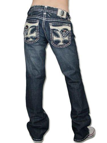 Preisvergleich Produktbild LAGUNA BEACH JEANS CO. Herren Destroyed Jeans - DANA POINT -33