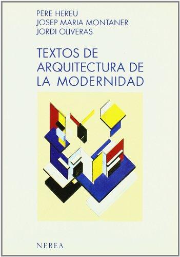 Textos de Arquitectura de la modernidad por aavv
