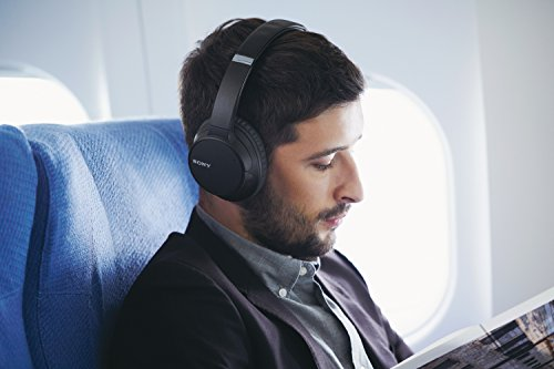 Sony WH-CH700N Wireless Bluetooth Noise Cancelling Headphones - Black