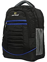 Polyester Waterproof Black Blue Laptop/Casual /Travel Backpack School Bag Strong