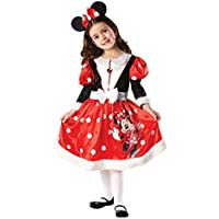 Rubbies - Disfraz de Minnie Mouse para niña, talla M (5 - 6 años) (881872M)