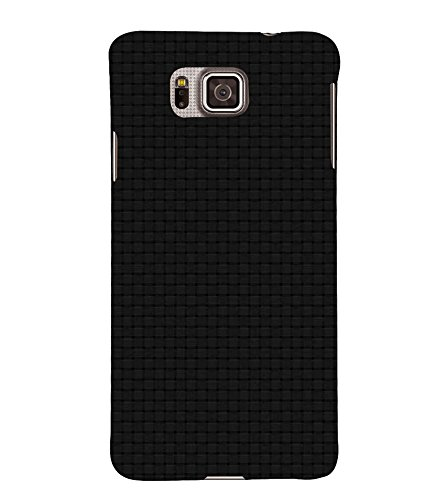 PrintVisa Simple Check Pattern 3D Hard Polycarbonate Designer Back Case Cover for Samsung Galaxy Alpha :: Samsung Galaxy Alpha S801 :: Samsung Galaxy Alpha G850F G850T G850M G850FQ G850Y G850A G850W G8508S :: Samsung Galaxy Alfa  available at amazon for Rs.299