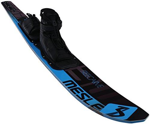 MESLE Monoski Freecarve blu 67'', 170 cm Slalom Wasserski, mit KD Comp Bindung (L)
