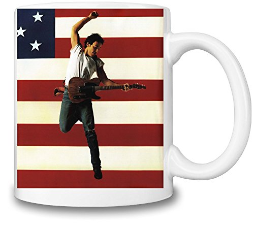 Bruce Springsteen Born In The USA Tazza Coffee Mug Ceramic Coffee Tea Beverage Kitchen Mugs By Genuine Fan Merchandise