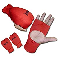 Aasta Karate Mitts Elasticated Padded Martial Arts MMA Boxing Training Gloves