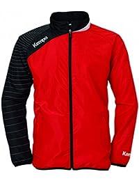 Kempa DHB chaqueta de presentación, color Rojo - multicolor, tamaño XL